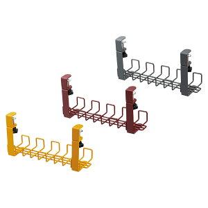 配線ケーブルトレー(Garage ケーブルトレー ワイヤーケーブルトレー 配線隠し ケーブル隠し カラフル ケーブルホルダー クランプ式 まとめる ケーブル収納 配線 収納 配線収納 配線整理 整