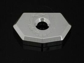 ランソムマシンワークス(Ransom Machine Works)08'-UP GSX-1300R 隼 イグニッションスイッチカバー,クローム08 Hayabusa ignition switch cap