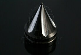 ランソムマシンワークス(Ransom Machine Works)スパイクスヨークキャップ,コントラストカットHayabusa Yoke/Triple Tree Nut Cap (SPIKE) (Black Anodized/Contrast Cut)