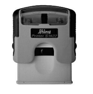 【送料無料】 シャイニー・プレミアムプリンター 12ミリ×36ミリ/スタンプパッド内蔵型