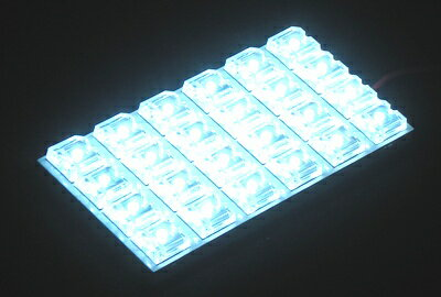 MAXLUX 車種別LEDルームランプ 4点セット ホワイト TOYOTA 185系ハイラックスサーフ/KDN/KZN/RZN18系 サンルーフ付車  H7y12〜14y11 品番MRS−032
