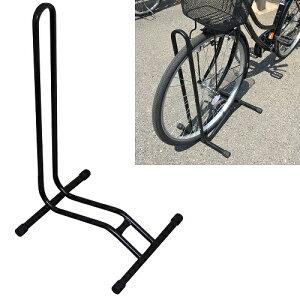 (送料無料)ガレージ・ゼロ 自転車スタンド 停め置きL字型[ブラック] GZMT28/駐輪スタンド