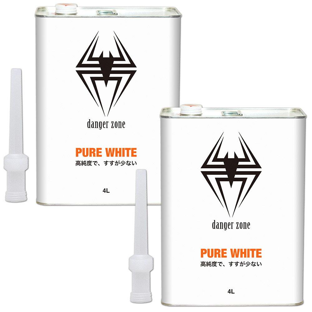 ガレージ・ゼロ ホワイトガソリン 4L×2缶/バーベキュー/アウトドア/携帯用ストーブ/ガスランタンの燃料に最適