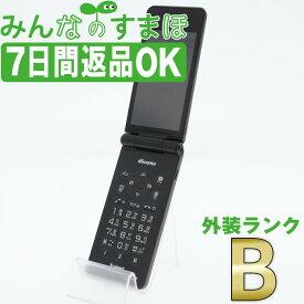 【中古】 P-01J P-smart ケータイ ブラック 【SIMフリー】 本体 ドコモ ガラケー 【あす楽】 【保証あり】 【送料無料】 p01jbk7mtm