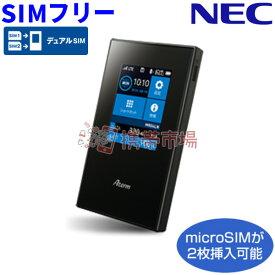 【中古】 【モバイルルーター】 SIMフリー NEC Aterm MR04LN PA-MR04LN ブラック 中古Cランク【あす楽対応】【本体のみ】 【送料無料】 ktib