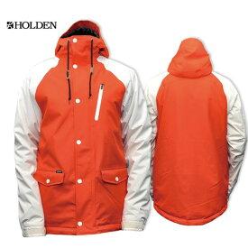 HOLDEN正規品 VARSITY JACKET Mサイズ RED / BONE メンズ スノーボード ジャケット【送料無料】最新 ストリートスタイル