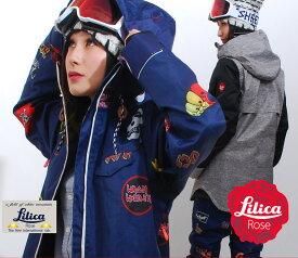 【正午まで決済完了で即日出荷】18-19 MODEL LiLicaRose リリカローズ スノーボードウェア レディース 上下セット スキーウェアにも スノボー スノーボードウエア レディス
