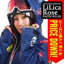 【正午まで決済完了で即日出荷】18-19 MODEL LiLicaRose リリカローズ スノーボードウェア レディース 上下セット ス…