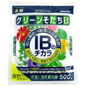 ★アウトレット★花ごころ IBのチカラグリーンそだちEX 500g