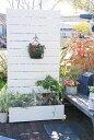 目隠しフェンス 樹脂フェンス【プランターボックス付きコンフォートフェンス/高さ180cm幅90cm板間隔1cm】(板11枚貼りです。2014年12月リニューアル...