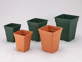 ロゼアスクエア260型 四角型 深型タイプ (上品な植木鉢 鉢)