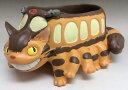 ジブリガーデニングプランター となりのトトロ ネコバスが走る