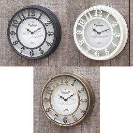 壁掛け時計OLD STREET WALL CLOCK【NHE901】 ※片面時計です