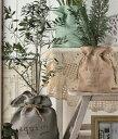 鉢カバーaqui linen cover Mサイズ【AS301/AS304/AS307】7号鉢(径220mmの鉢に対応)