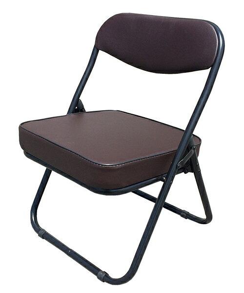 【送料無料】折りたたみ座椅子 ローチェアー ブラウン和座敷チェアー 座敷椅子 正座椅子