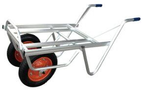 ◆法人様限定お届け◆アルミ平型二輪車 コンテナ2個用 TC-2402
