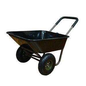 【送料無料】2輪ガーデンカート WB2102B 一輪車型 二輪車 台車・リヤカーに 2輪 キャリー ガーデニングに