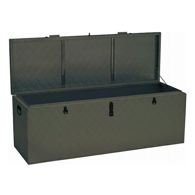 【送料無料】万能アルミボックス BXA135GR(ODグリーン) 道具箱 宅配BOX 収納BOX
