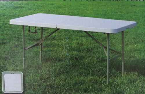 折りたたみテーブル(作業台/ワークデスク) 1535×768×H740 YCZ-152Z キャンプ BBQ