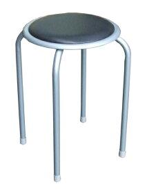 【送料無料】パイプ丸椅子 10脚セット SC-98056
