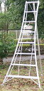 【送料無料!】園芸用アルミ三脚8尺KWX-240 240cm 2.4m【メーカー直送の為代引き発送及び日時指定は出来ません】