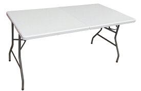【送料無料】折りたたみテーブル(作業台/ワークデスク) 1520×740×H740 YCZ-152 キャンプ BBQ キャンプ BBQ レジャーテーブル アウトドアテーブル 作業テーブル 折り畳みテーブル