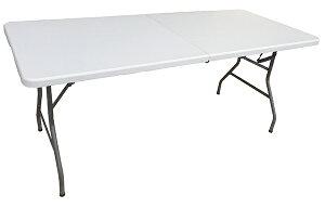 【送料無料】折りたたみテーブル(作業台/ワークデスク) 1820×740×H740 YCZ-182 キャンプ BBQ レジャーテーブル アウトドアテーブル 作業テーブル 折り畳みテーブル