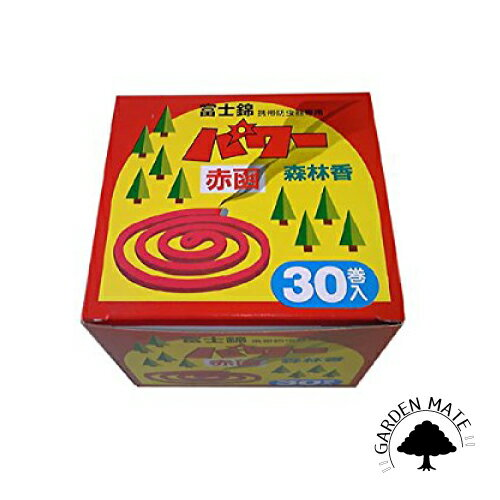 パワー森林香(赤色) 30巻入