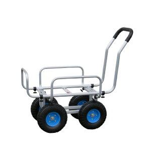 【送料無料】アルミハウスカーTC1408N-1010インチデカタイヤ(コンテナ2個用)青タイヤ