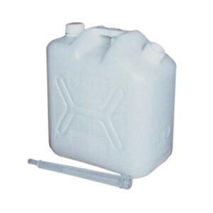 飲料水専用タンク ノズル付水缶 20L