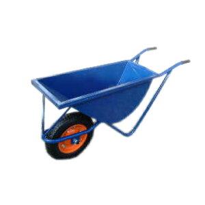 ◆法人様限定お届け◆幅の狭い一輪車 紺色深型