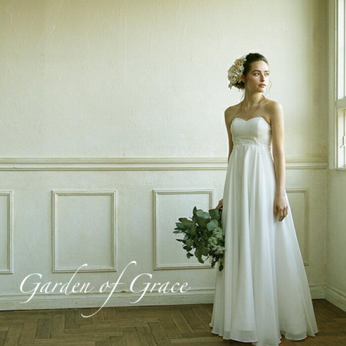 619364d6d920c 楽天市場 ウエディングドレス エンパイア 二次会 ドレス 花嫁ドレス ...