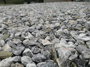 砂利【送料無料】20kg砂利白砕石20mm〜30mm砕石庭アプローチ防犯砂利おしゃれガーデニング駐車場白い砂利白い石グレー白小粒小さい石石エクステリア外構ガーデン庭園グレー洋風和風愛知県産