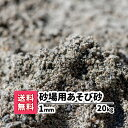 砂場用砂【送料無料】20kg(10kgあたり1,240円)1mm 放射線測定済み 安心安全 遊び砂 砂遊び 遊び砂 ベランダ 室内 泥ん…