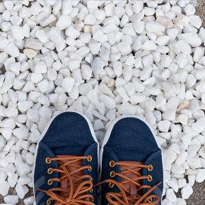 白玉砂利20mm〜30mm靴