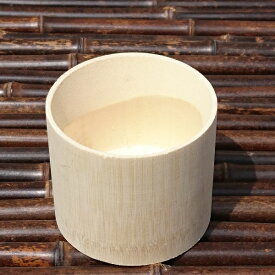 竹筒 白 外寸約φ8×H7センチ 12個セット【送料無料】【天然竹】【そばちょこ】【流しそうめんに最適】