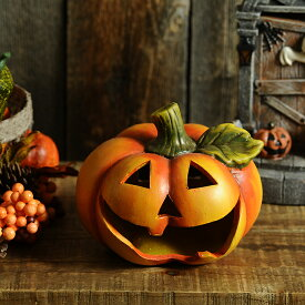 ハロウィン かぼちゃ ソーラーライト 大笑いパンプキン 置物 ライト ガーデン 雑貨 LED の インテリア 飾り 装飾 パーティグッズ 楽しく 点灯 光る