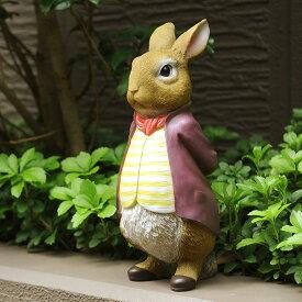 Mr.ベンジャミン (ピーターラビットの仲間たち) 絵本 雑貨 置物 うさぎ グッズ 映画 人気 ラビット ウサギ キャラクター オブジェ オーナメント 童話 物語 お子様 なつかしい
