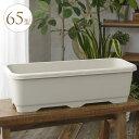 園芸軽量 大型ワイドプランター 65型 プラ鉢 シンプル おしゃれ 安い 簡易 かわいい 屋外 プラスチック 軽い 大きい …