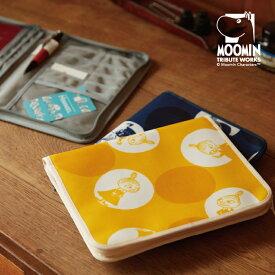 ムーミン マルチケース ポルカドットのミイ メール便 送料無料 母子手帳 パスポート カード入れ かわいい おしゃれ 子供 便利 北欧 フィンランド moomin QUARTER REPORT