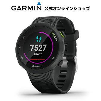 ForeAthlete 45 Black スマートウォッチ ランニングウォッチ GPSウォッチ トレーニング 腕時計 デジタル Garmin ガーミン 【あす楽】 【1年延長保証付き】