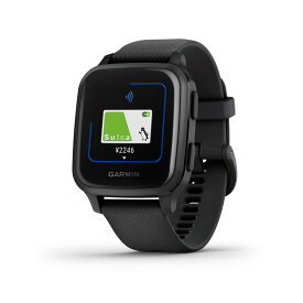 Garmin ガーミン Venu Sq Music Black/Slate