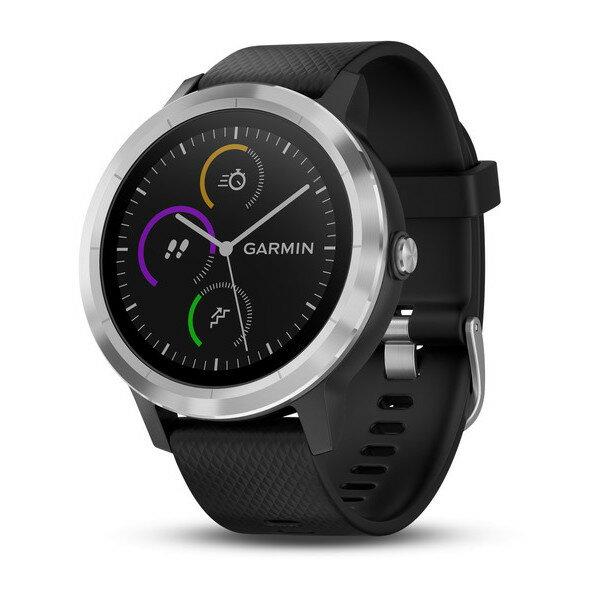 GARMIN ガーミン vivoactive3 Black stainless 光学式心拍計搭載 タッチパネル式 GPSスマートウォッチ