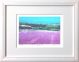 吉岡浩太郎『幸せの散歩道』(太子判) ジグレ・シルクスクリーン版画