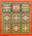 『金剛界曼荼羅』複製画色紙(アートプリント)