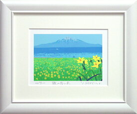 吉岡浩太郎『旅の思い出』(インチ判)シルクスクリーン版画