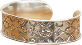LHN Jewelry(エルエイチエヌ ジュエリー) ハンドメイド ナバホ シルバー バングル Navajo Cuff Silver 【あす楽】