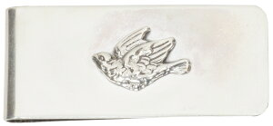 LHN Jewelry(エルエイチエヌ ジュエリー) ハンドメイド 米国製 スターリングシルバー Swallow マネークリップ 【あす楽】