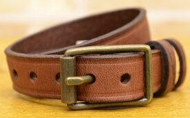 (ラルフローレン) Ralph Lauren バックル レザー ブレスレット エンブレム 型押し ブラウン Leather Wrist Strap【あす楽】