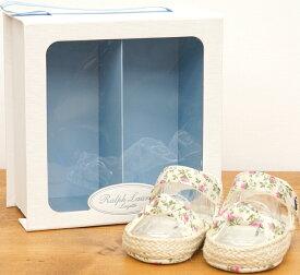 (ラルフローレン) Ralph Lauren フローラル サンダル 花柄 ベビー Floral Baby Sandals【あす楽】